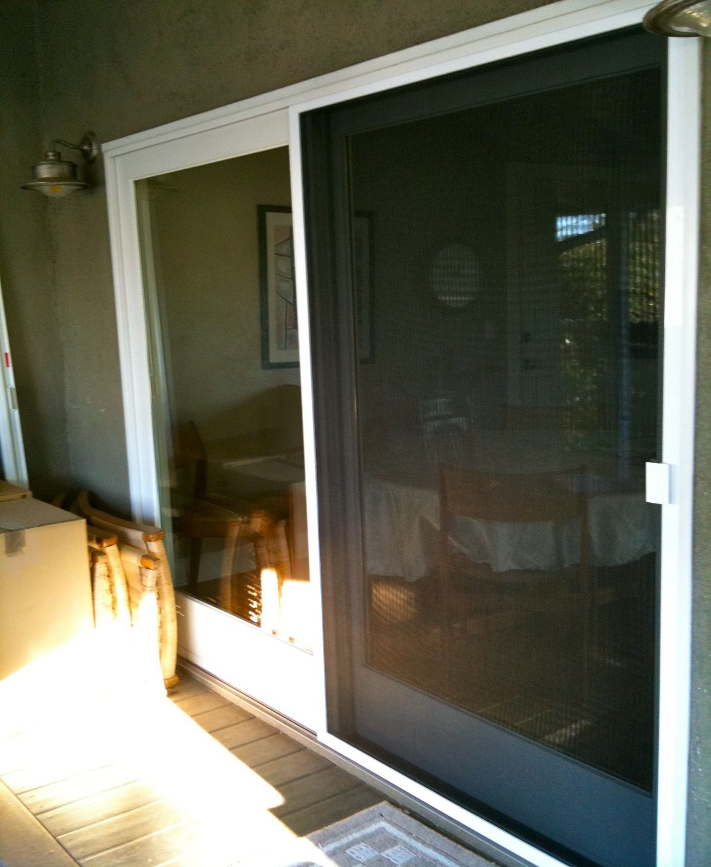 Mobile home sliding glass door screen sliding doors for Sliding patio screen door