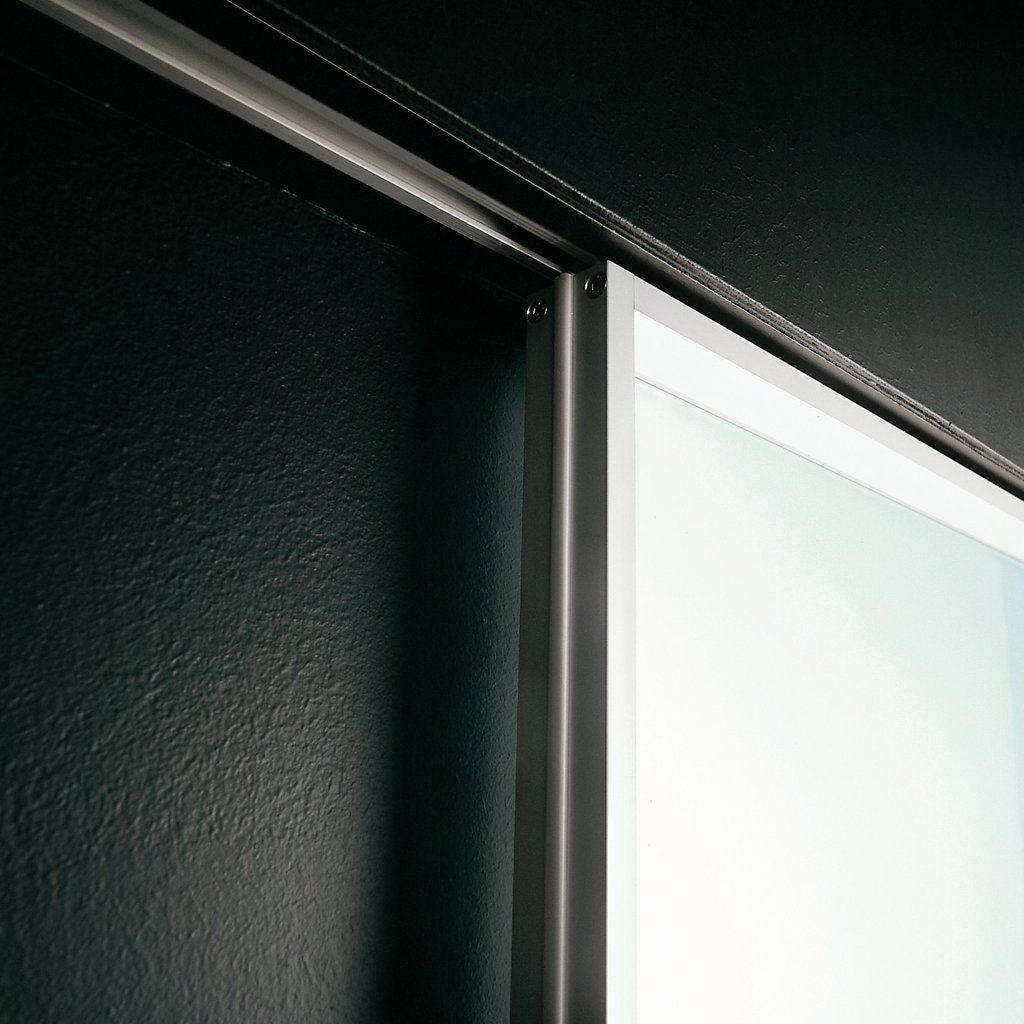 Recessed Sliding Door Track Hardwareinstalling the sliding door track perfectly luxury decoratings