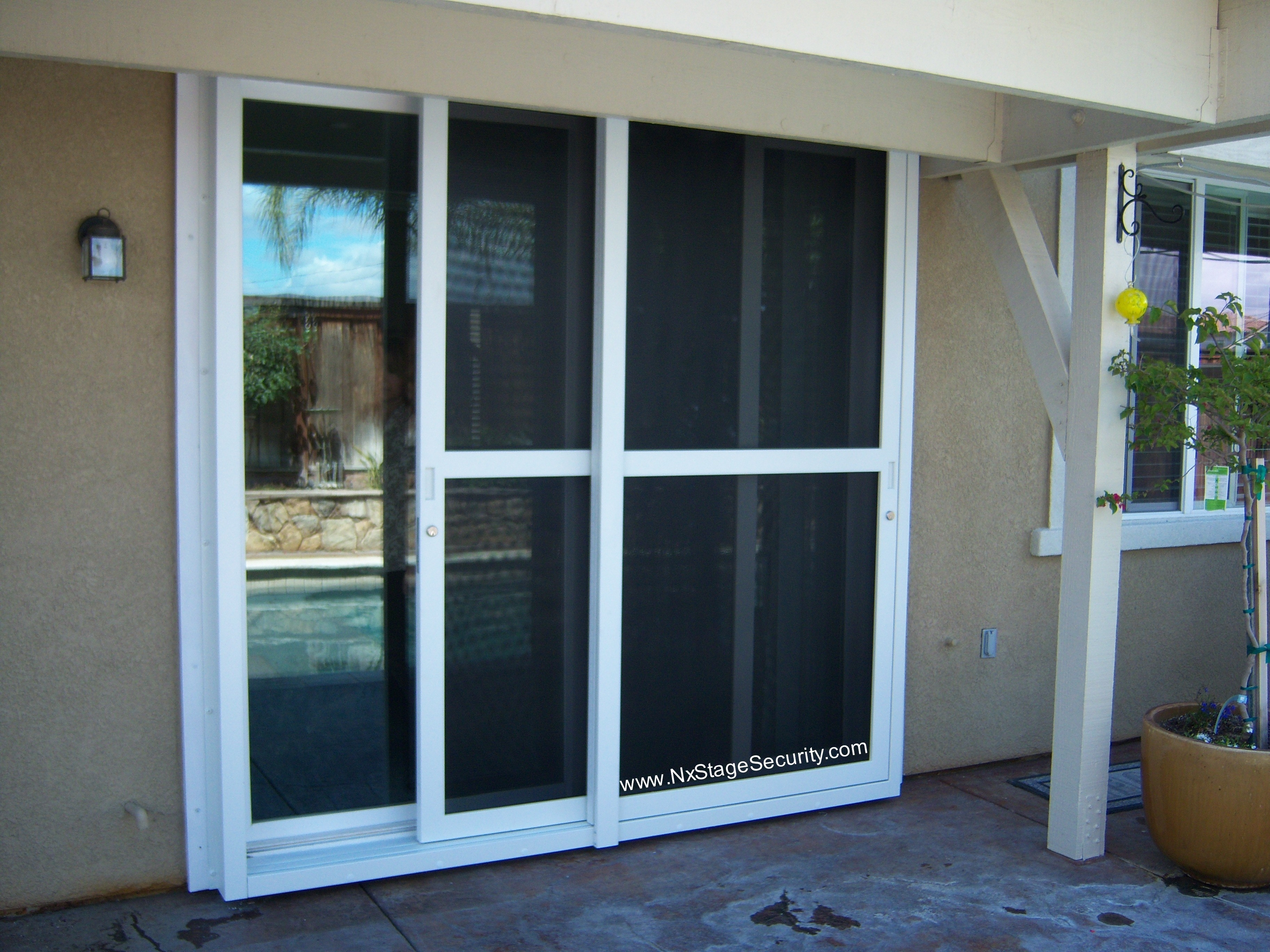 Sliding glass screen doors saudireiki security screen door for sliding glass doors eventelaan Image collections