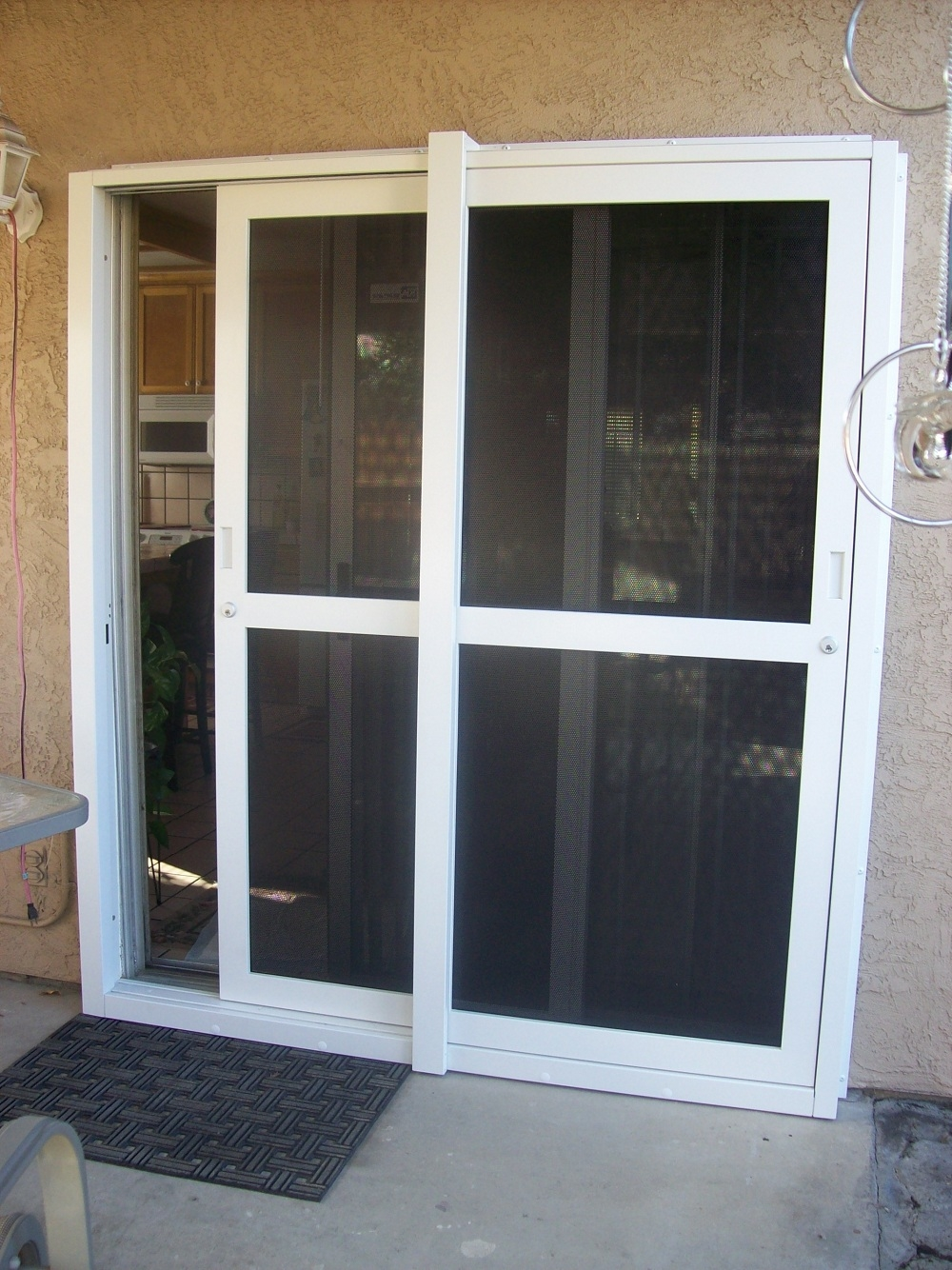 Security Sliding Glass Door Screen