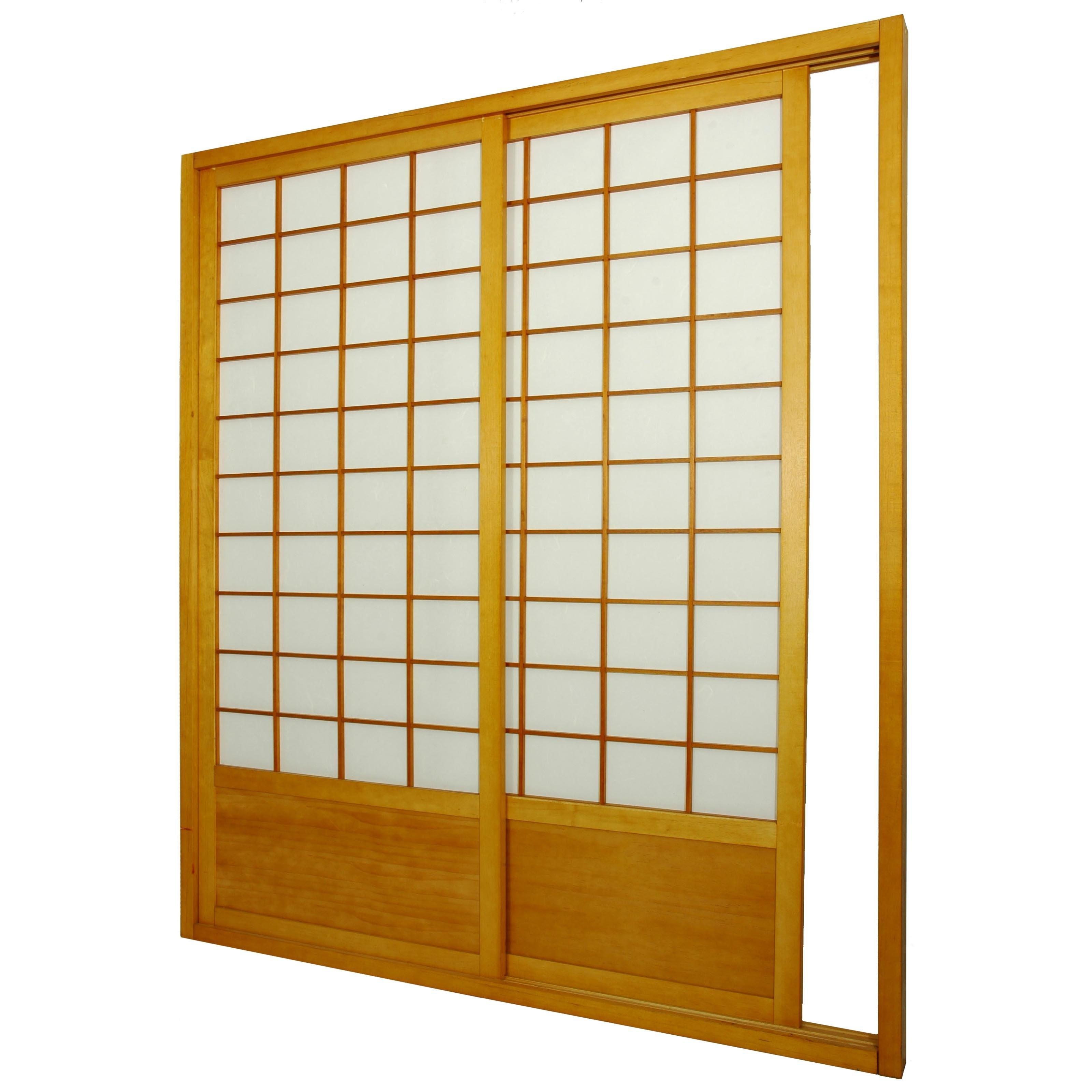 Shoji Screen Sliding Doors Kitoriental furniture bamboo tree shoji sliding door kit room