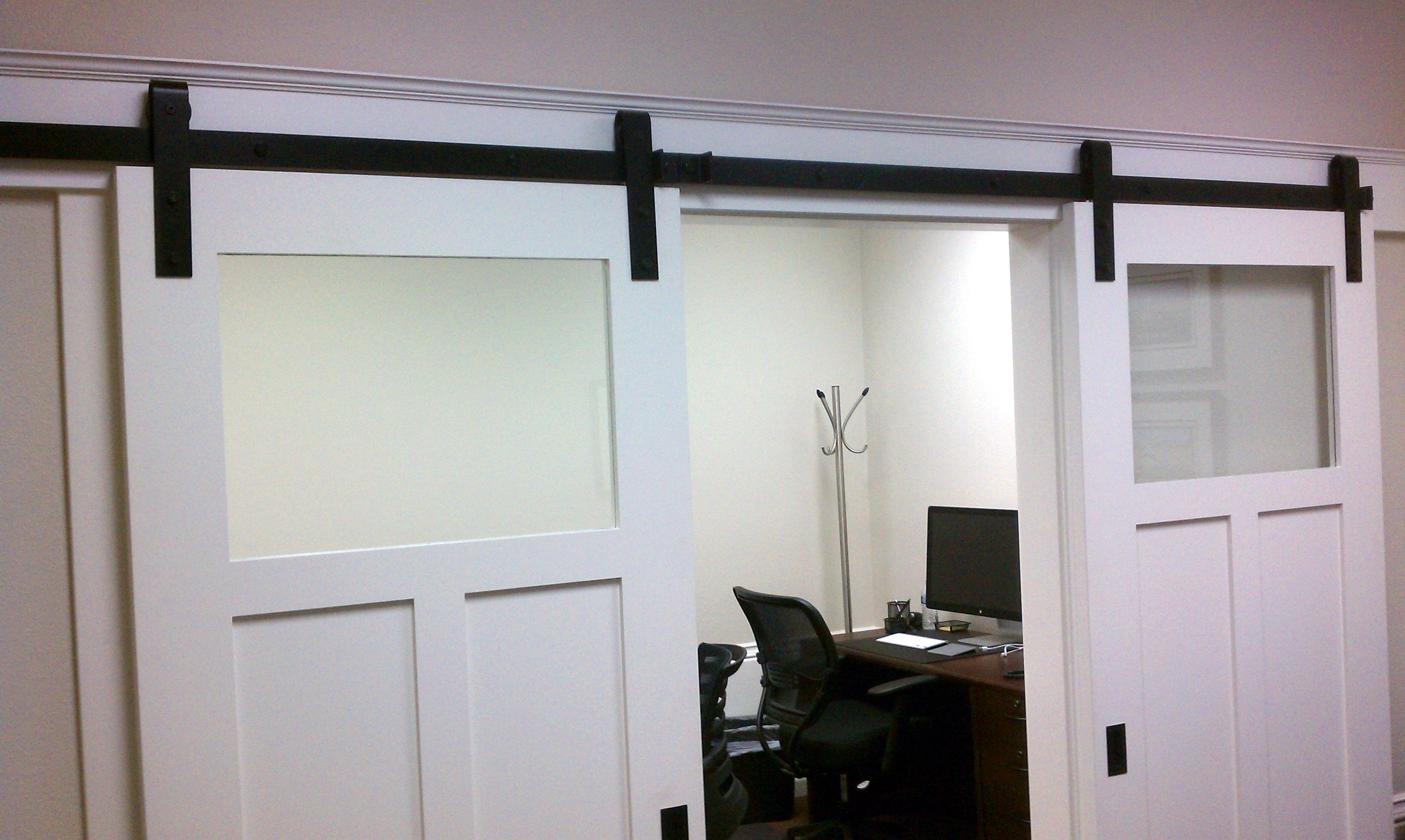 Sliding Barn Doors With Glass Panelssliding interior barn doors with glass barn decorations