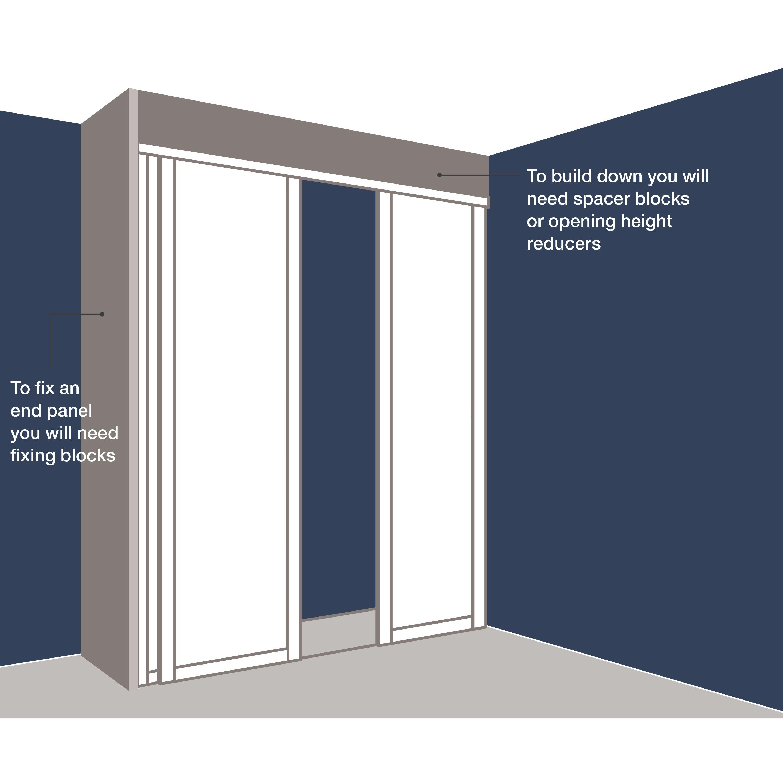 Sliding Door Height ReducerSliding Door Height Reducer