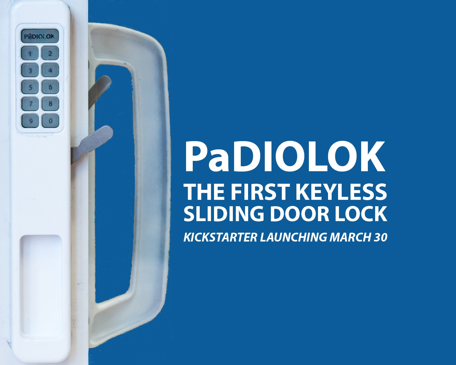 Sliding Door Lock With Keypad