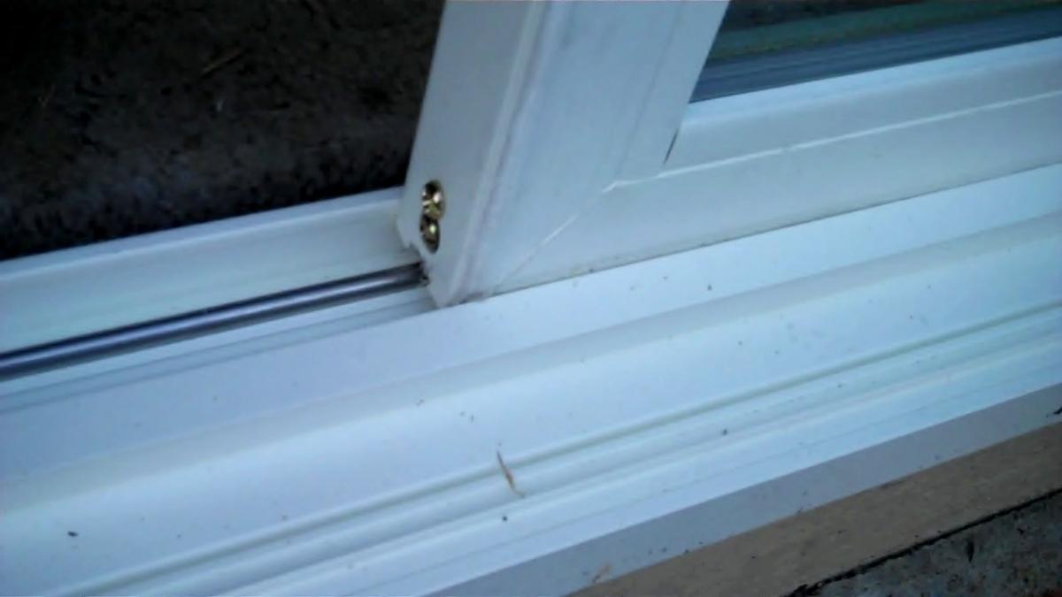 Sliding Glass Door Adjustment ScrewsSliding Glass Door Adjustment Screws