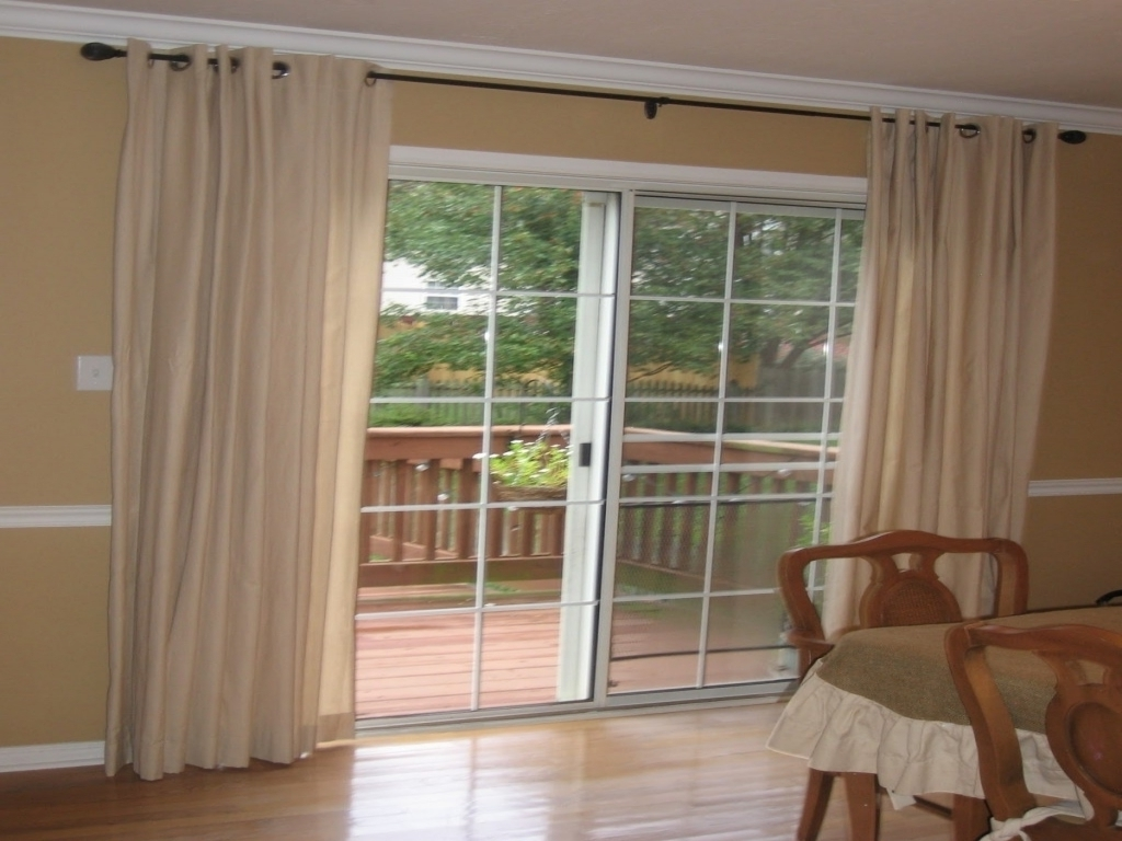 Sliding Glass Door Drapery IdeasSliding Glass Door Drapery Ideas
