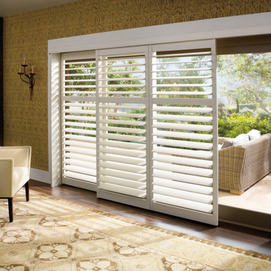 Sliding Glass Door Panels Blindswindow treatments for sliding glass doors ideas tips