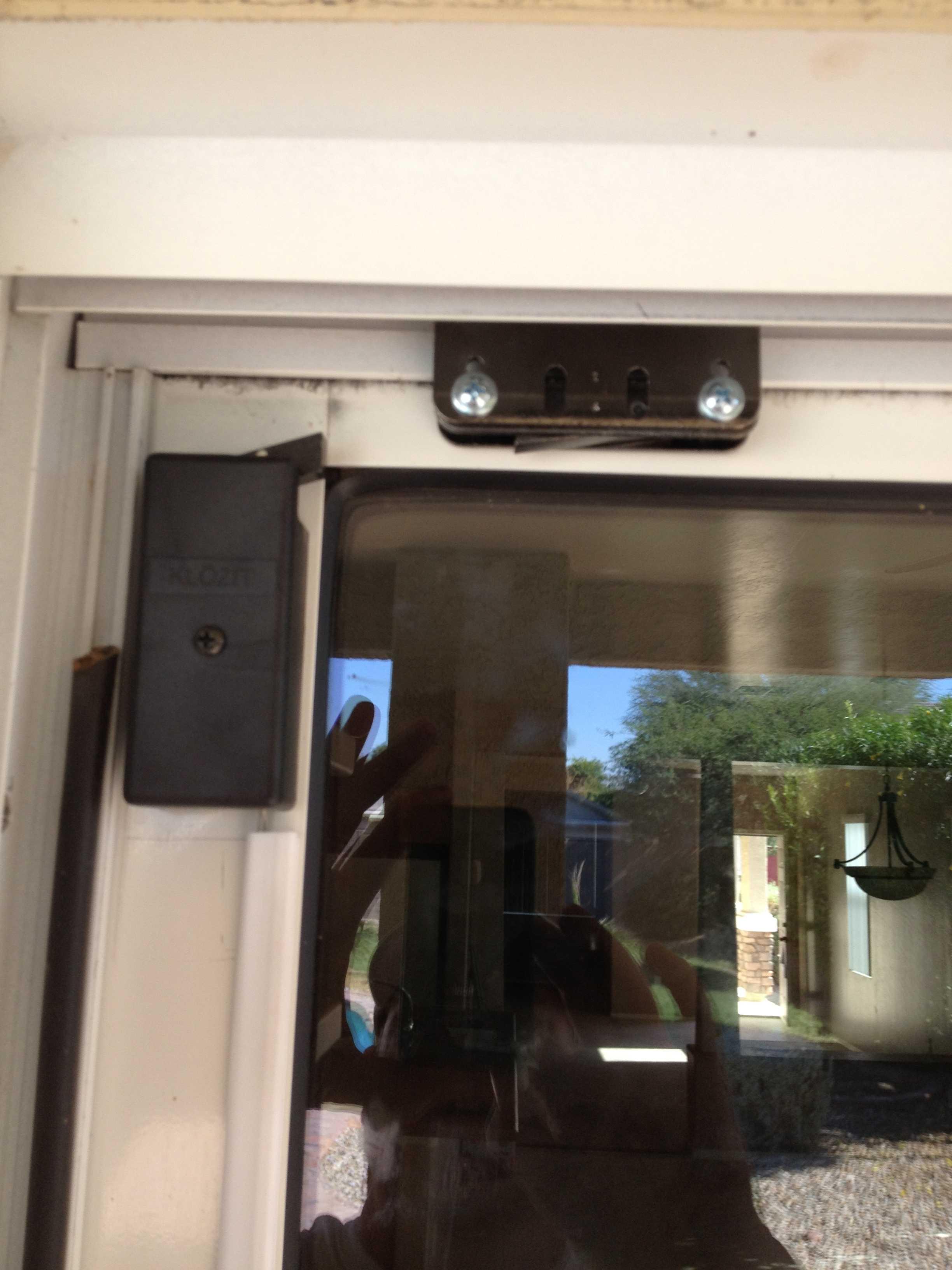 Sliding Glass Door Pool Safety Latchklozit sliding glass door latch system
