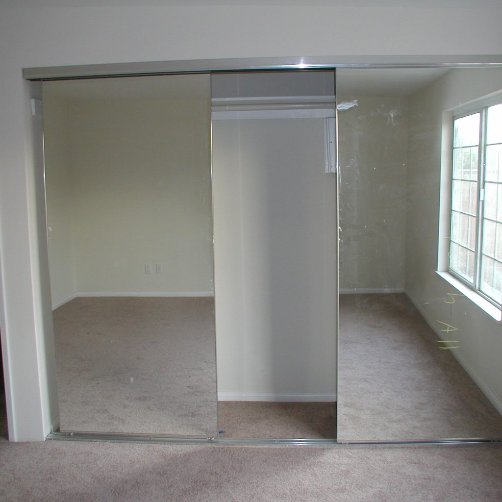 Sliding Mirror Closet Doors Track