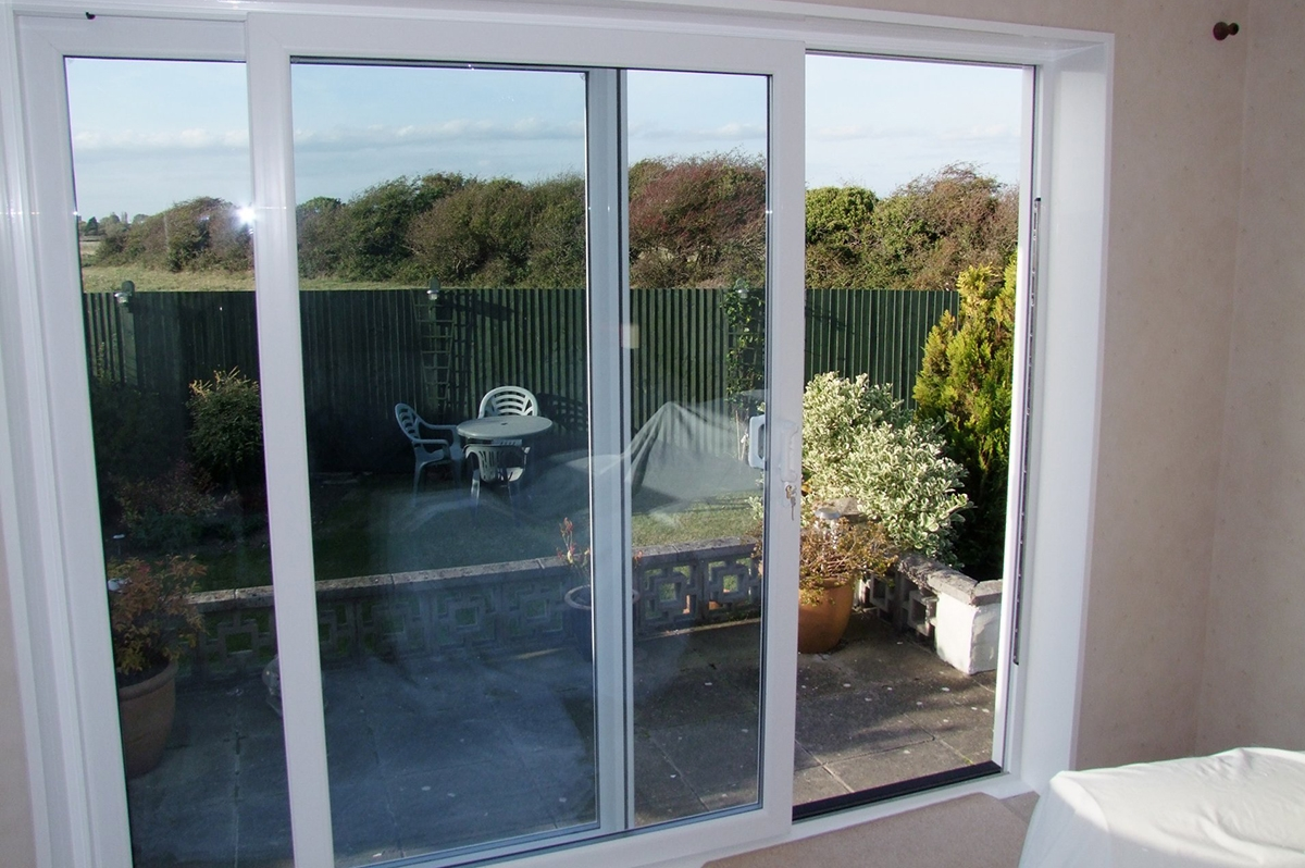 Sliding patio door adjustment double glazed sliding doors for Double sliding patio doors