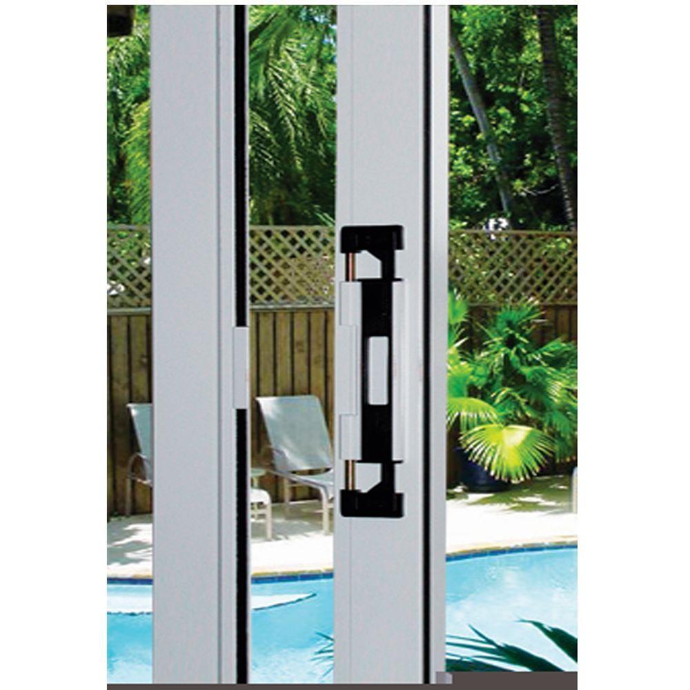 Sliding Patio Door Exterior Locklockit double bolt sliding glass door blackwhite lock 200100100