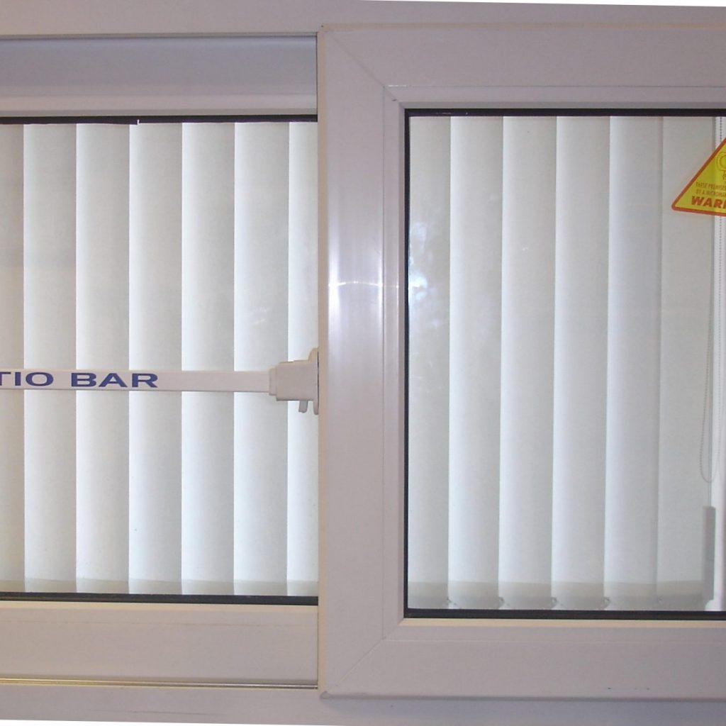 Sliding Patio Door Safety Bar
