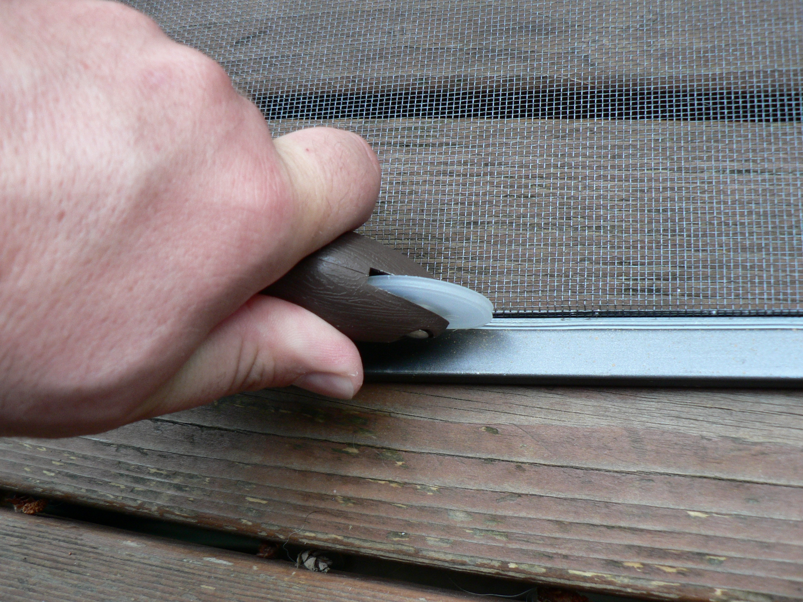 Sliding Screen Door Spline Size