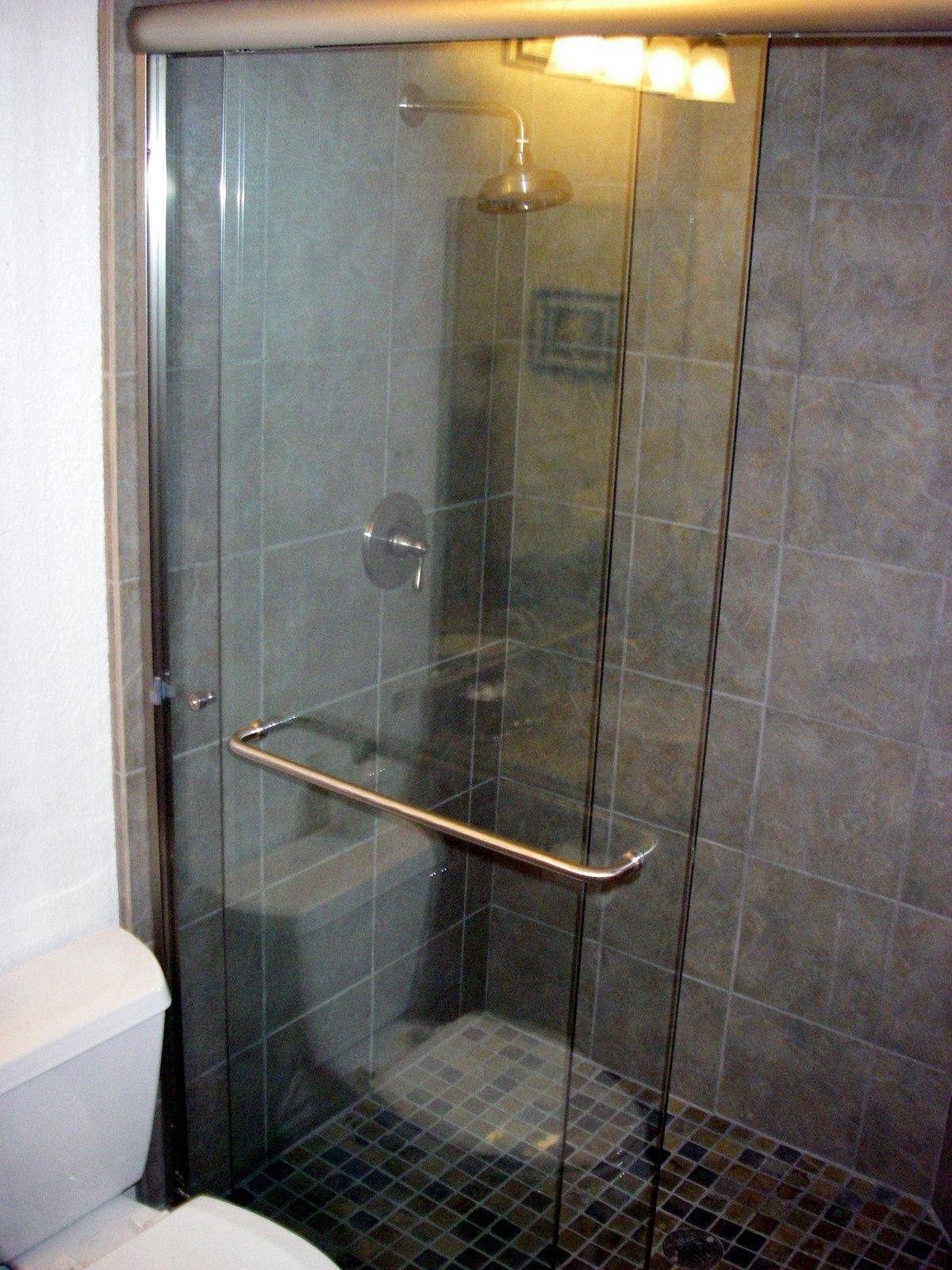 Sliding Shower Door Towel Bar Kit