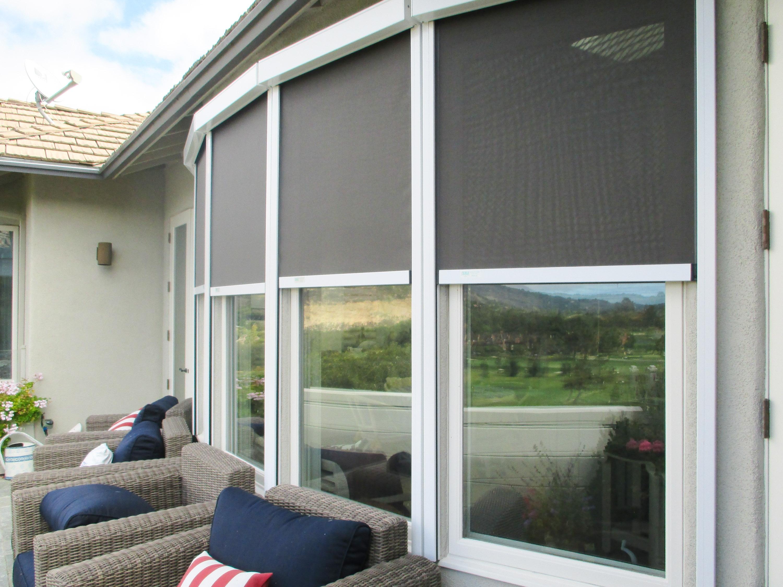 Solar Screens For Sliding Glass Doorsretractable solar screens ers shading san jose ca