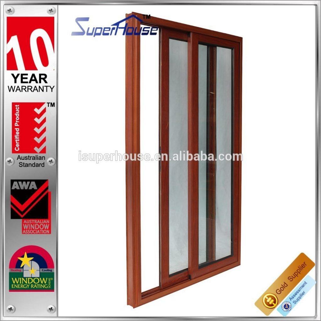 Sound Proof Sliding Folding Dooraustralia as2047 standard soundproof modern wood color double