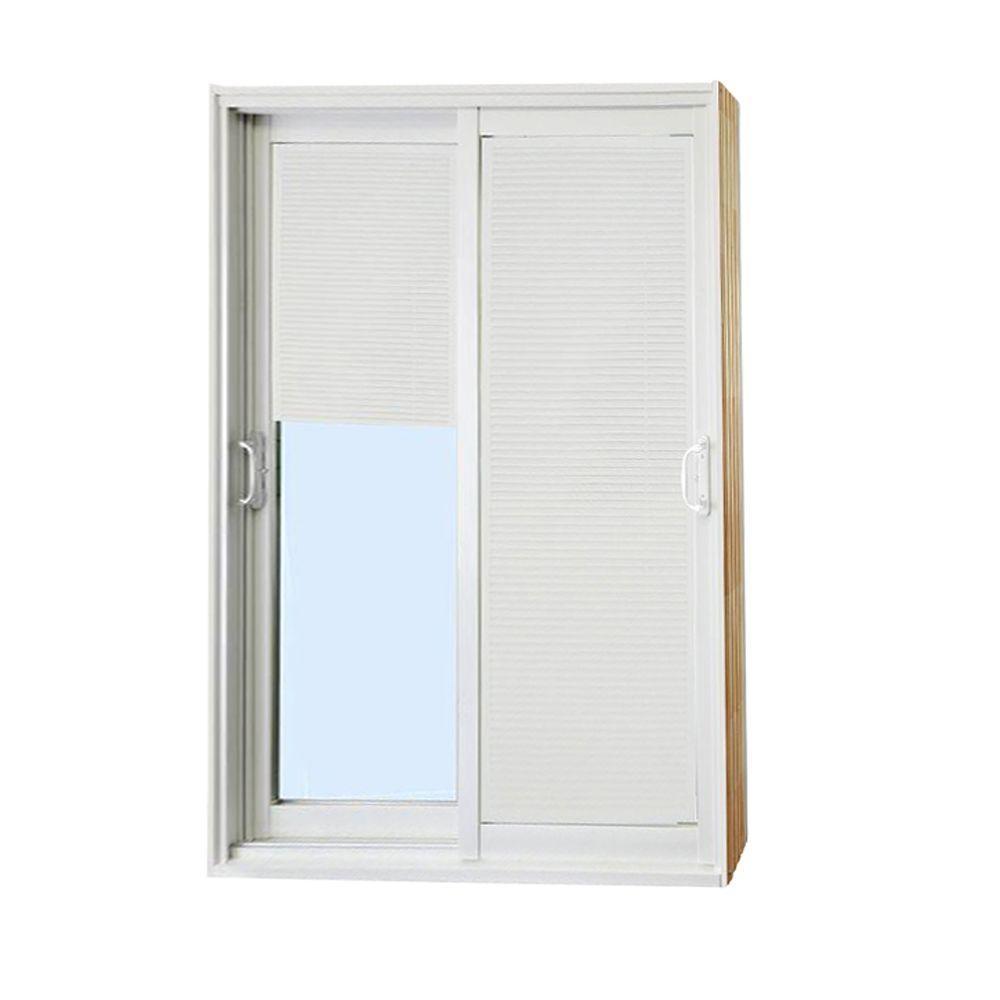 Stanley Double Sliding Patio Doorstanley doors 72 in x 80 in double sliding patio door with