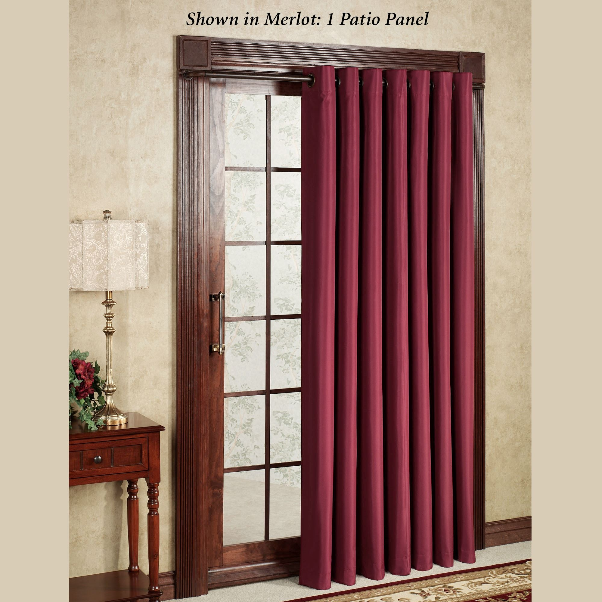 Thermal Lined Drapes For Sliding Glass DoorsThermal Lined Drapes For Sliding Glass Doors