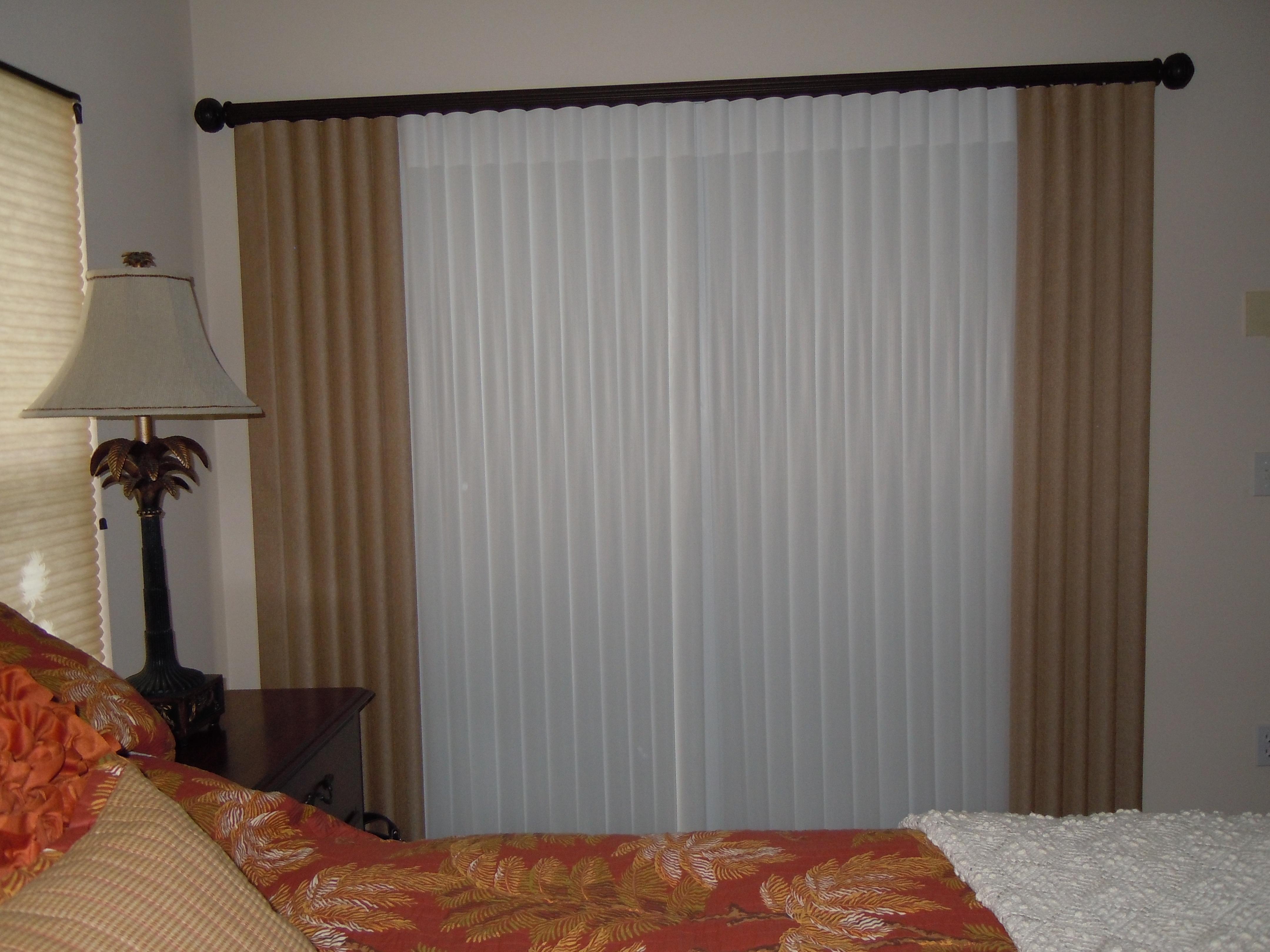 Vertical Blinds For Sliding Glass Door Inside Mount4320 X 3240