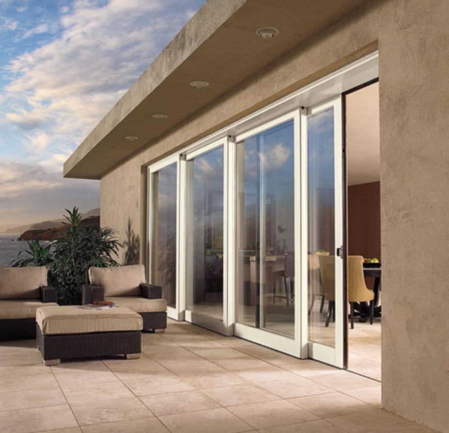 Aluminum Lift And Slide Patio Doors