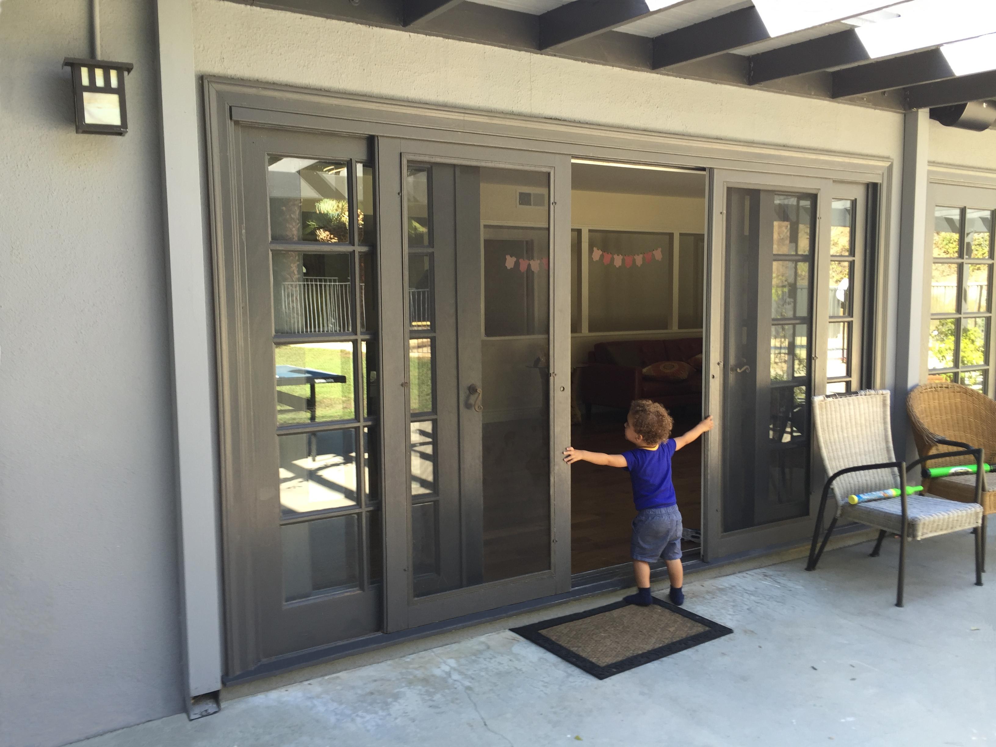 Custom Sliding Screen Door Kitsliding patio doors with screens