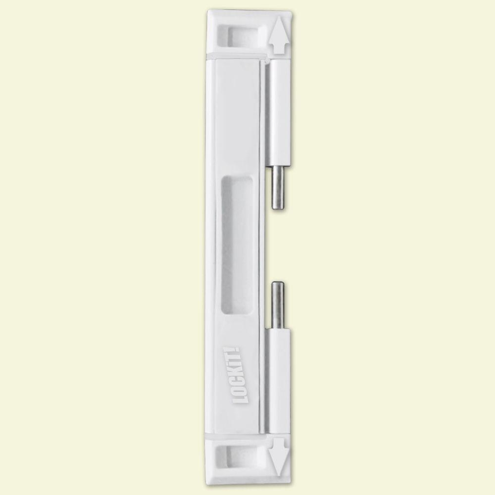 Dual Sliding Glass Door Lock