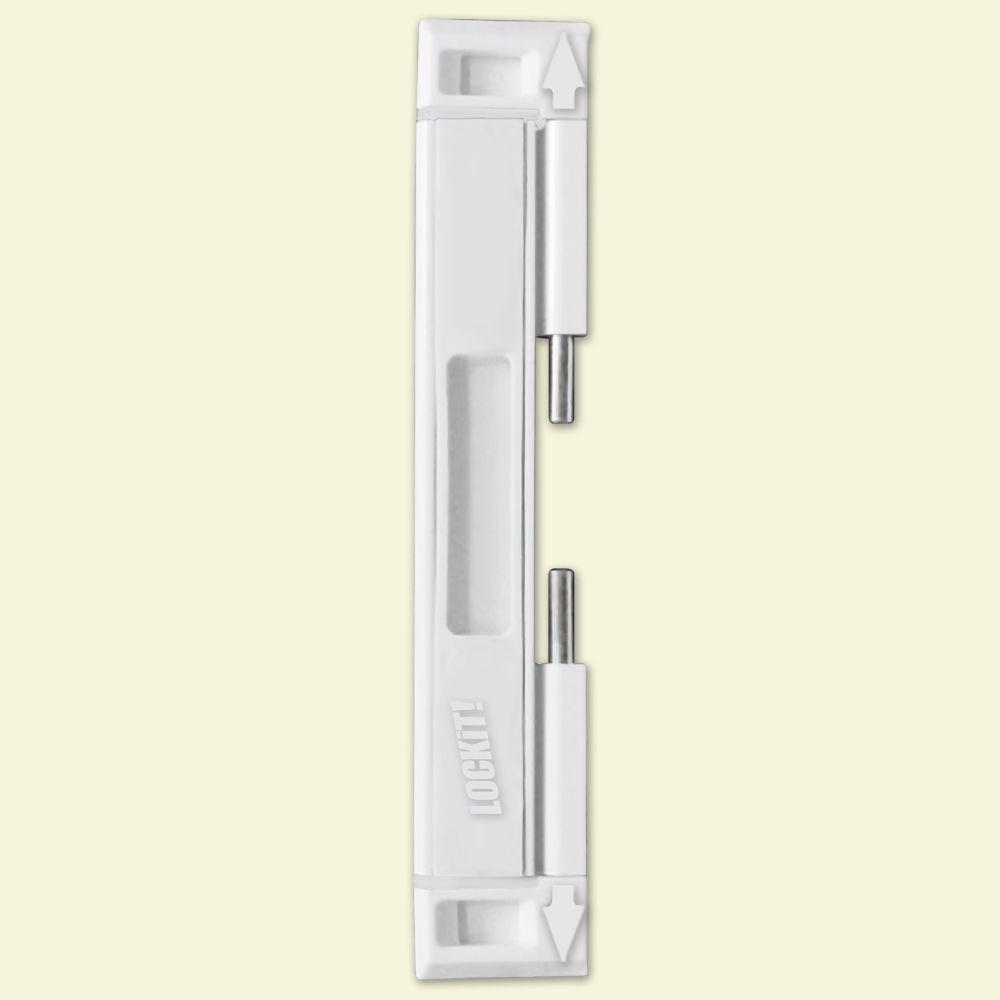 Dual Sliding Glass Door Lock