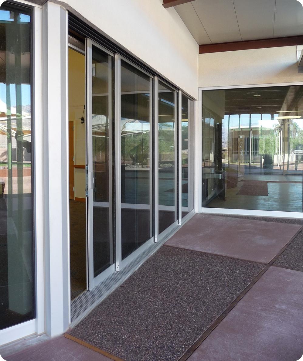 Multi Track Sliding Glass Doorscommercial sliding glass doors multi track and dual track