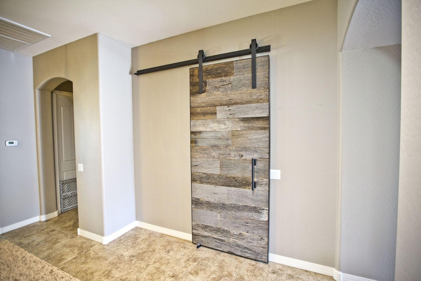 Salvaged Wood Sliding Barn Doors