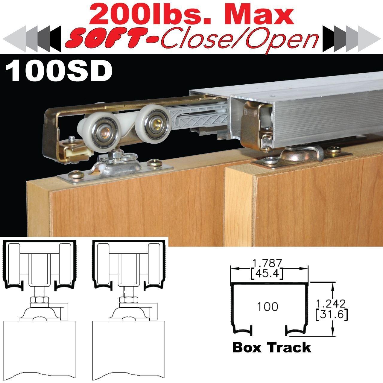 Sliding Bypass Door Track Kit1280 X 1280