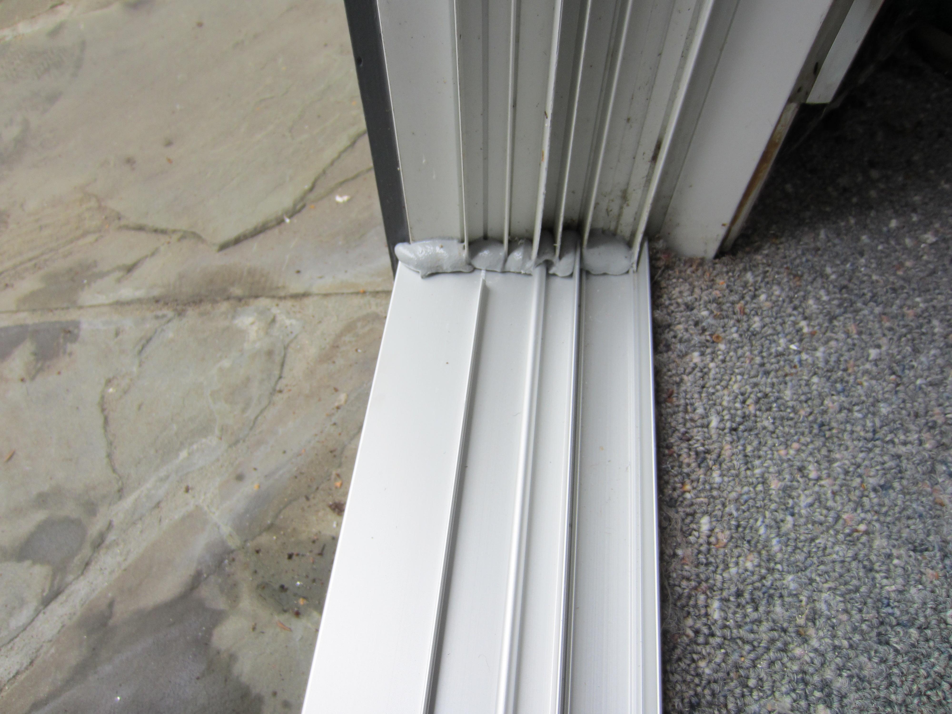 Sliding Glass Door Rail System
