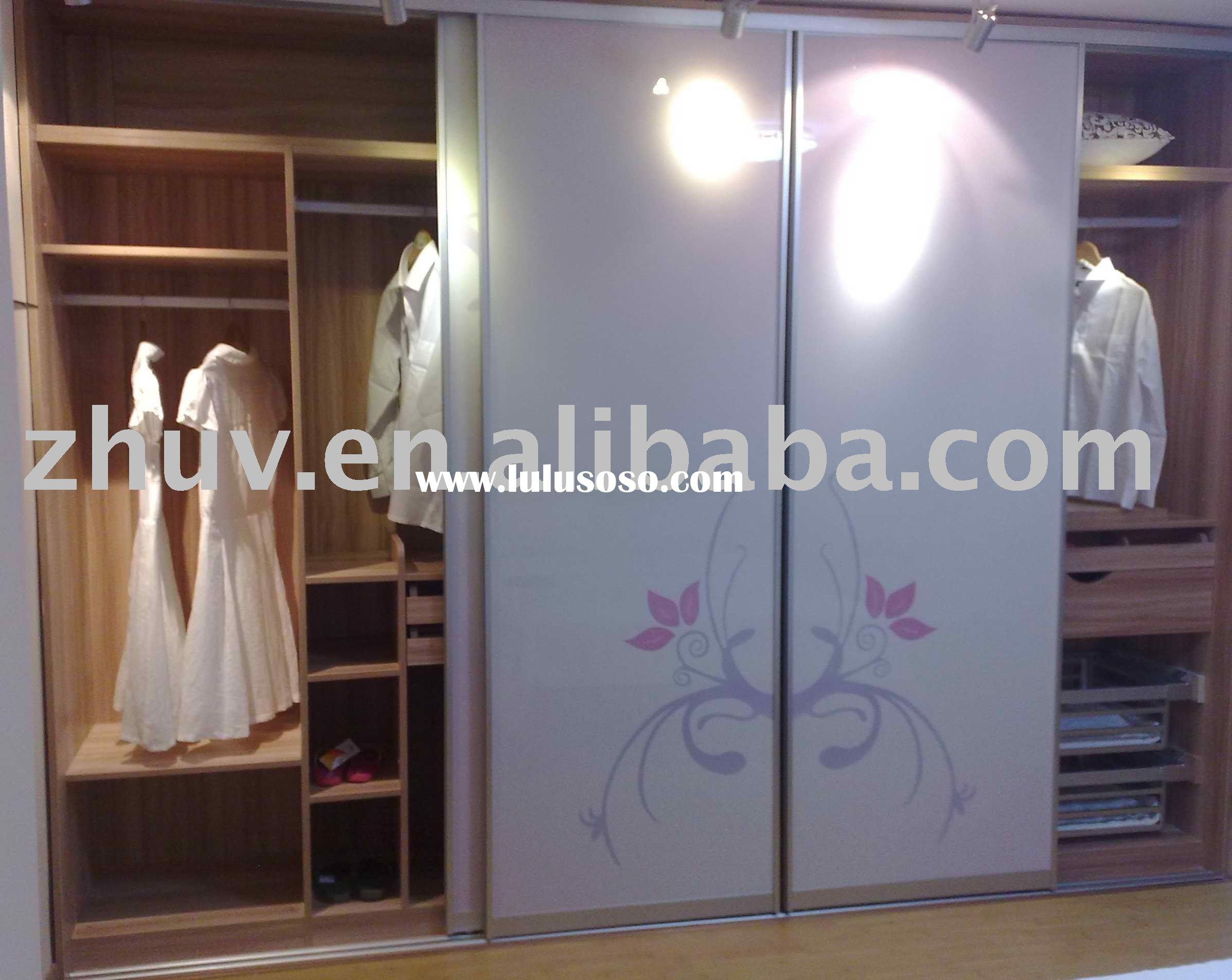 Sliding Mirror Closet Door Floor Track2395 X 1905