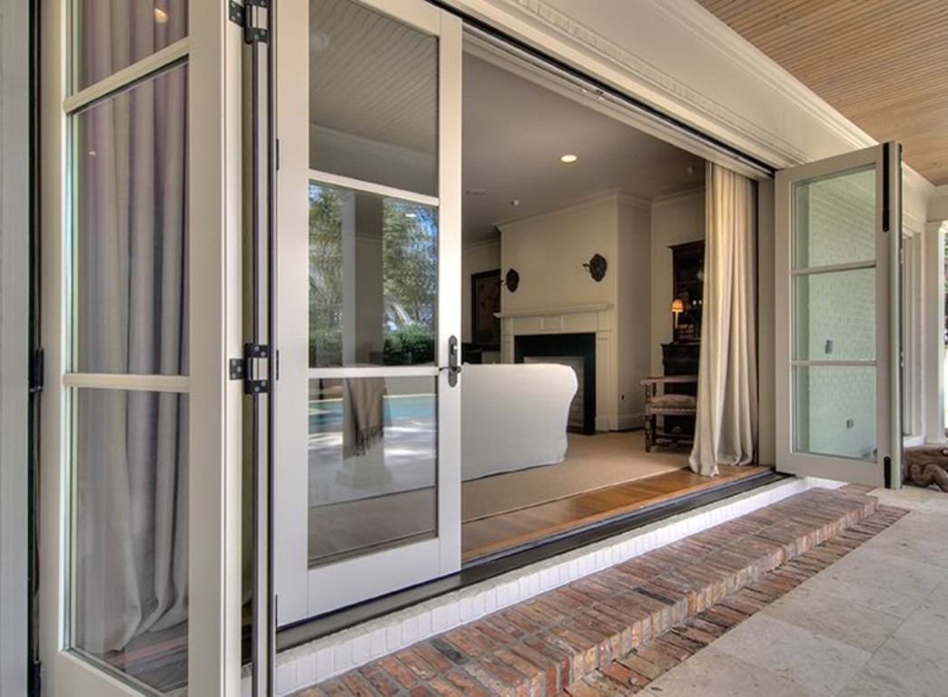 Triple Panel Sliding Patio Doorstriple panel sliding glass doors dors and windows decoration