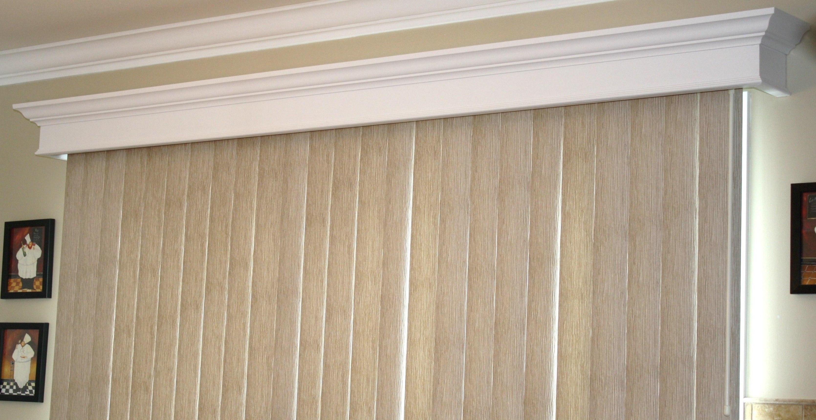 Wood Cornices For Sliding Glass DoorsWood Cornices For Sliding Glass Doors