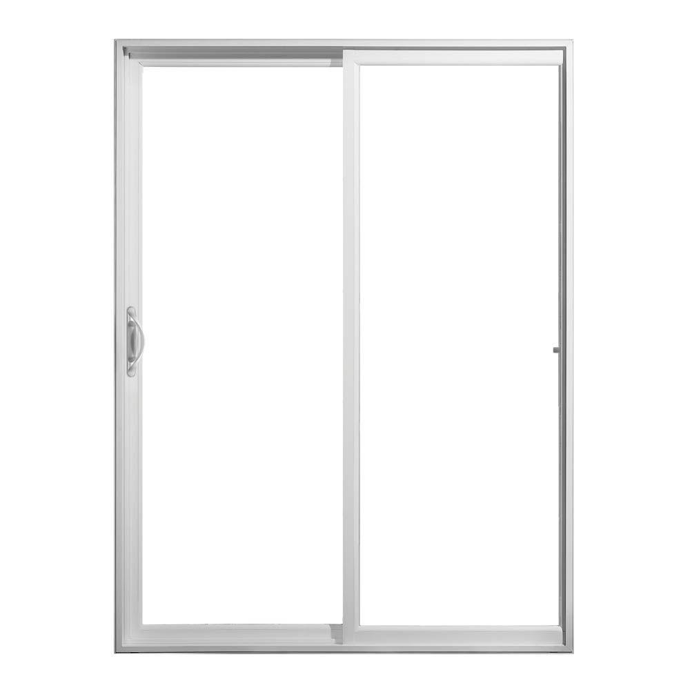 5 Foot Sliding Glass Door Rough Openingjeld wen 72 in x 80 in white vinyl left hand sliding patio door
