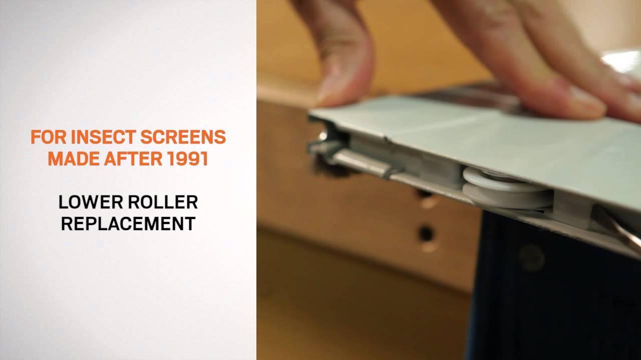 Anderson Sliding Screen Door Adjustment1280 X 720