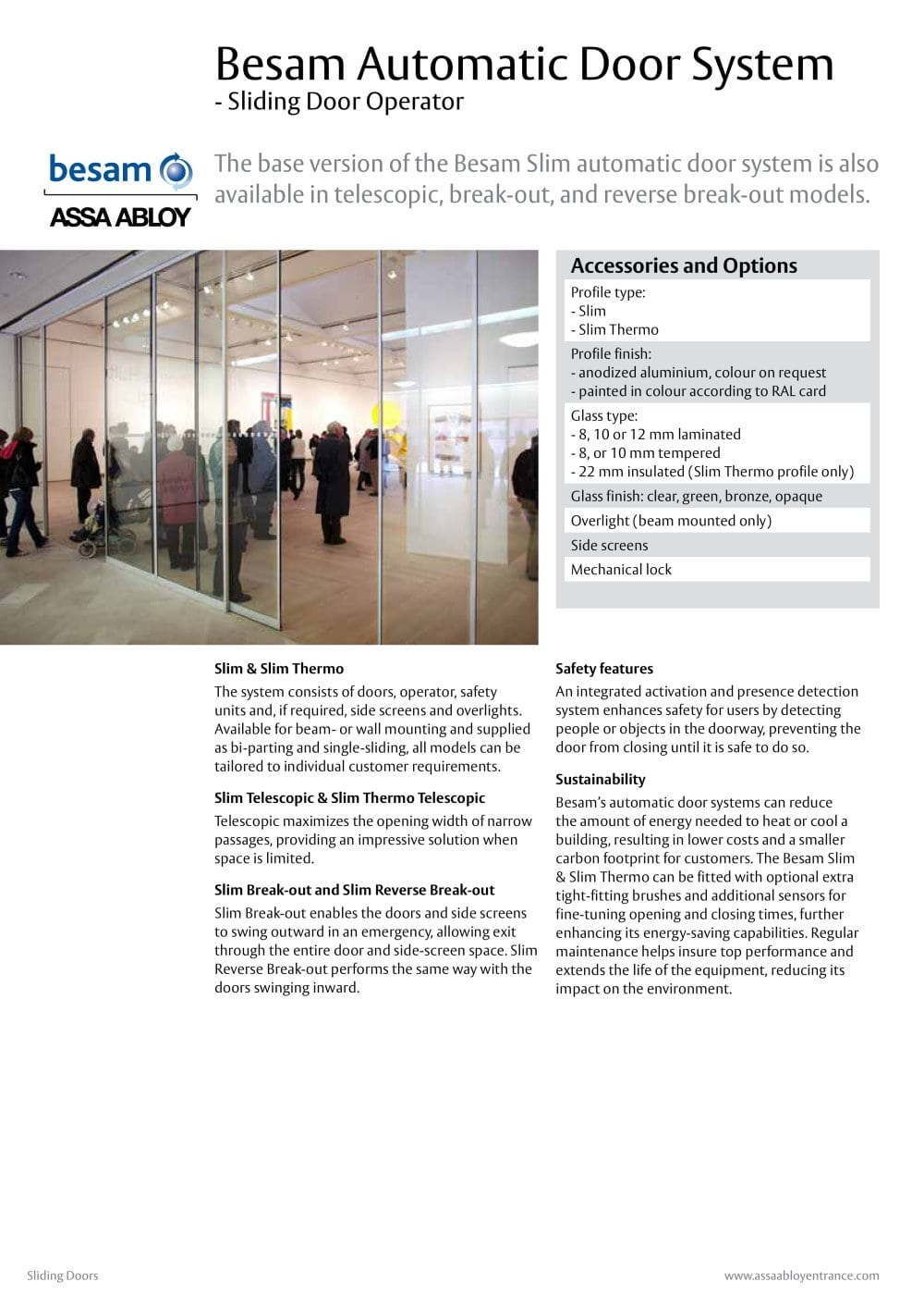Besam Telescopic Sliding Doorsbesam automatic door system assa abloy entrance systems pdf