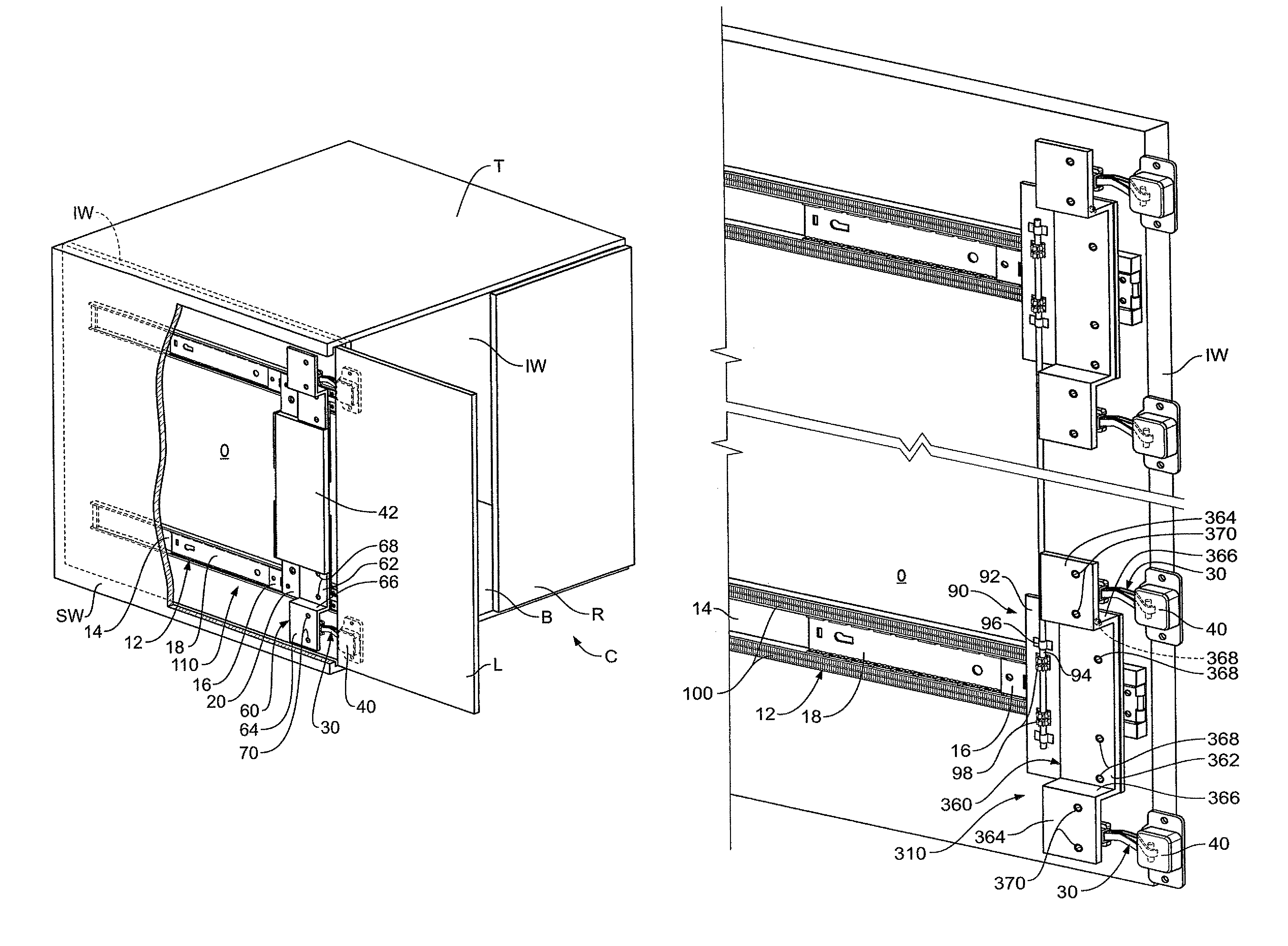 Blum Flipper Door Slidespatent us8231187 hinge bracket for a pocket door google patents