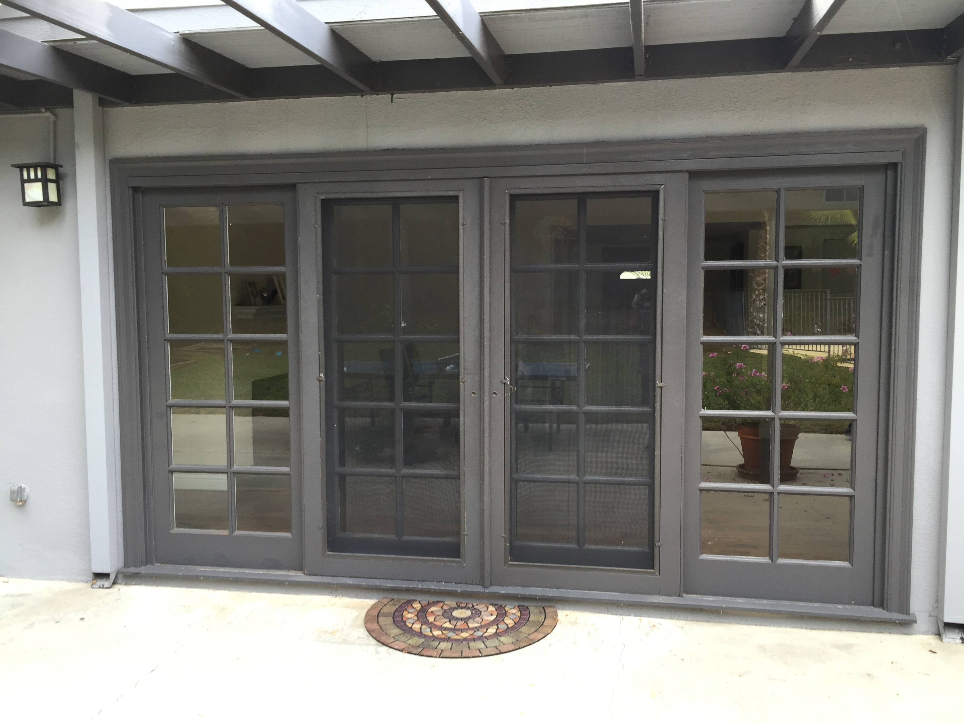 Custom screen doors for sliding glass door sliding doors for Screen door for sliding glass door