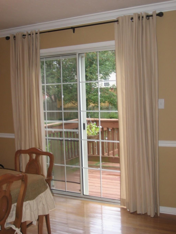 Draperies For Sliding Glass Doorssliding glass door drapes roselawnlutheran