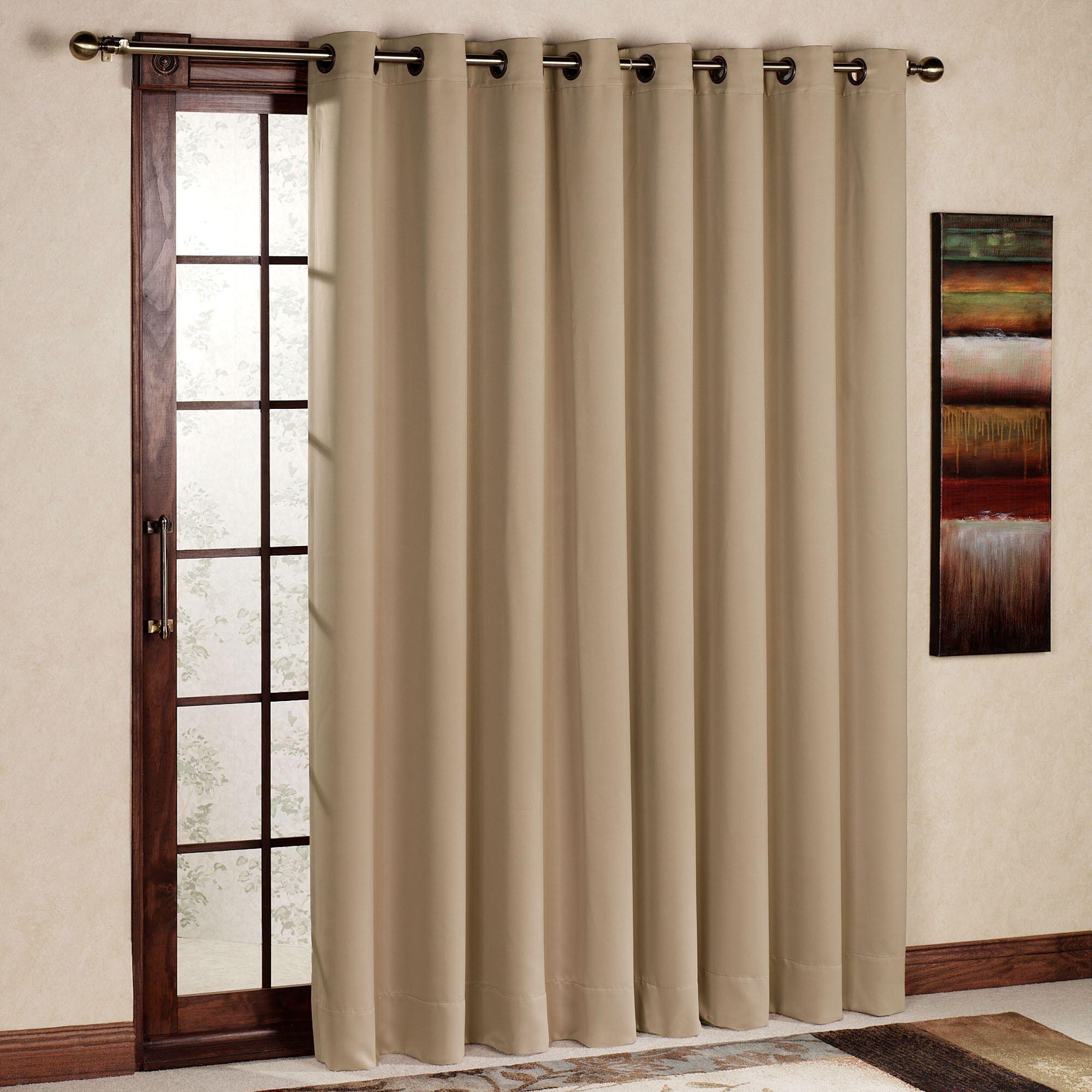 Drapes For Sliding Glass Doors Homedrapes for sliding glass doors patio door curtain panels touch of