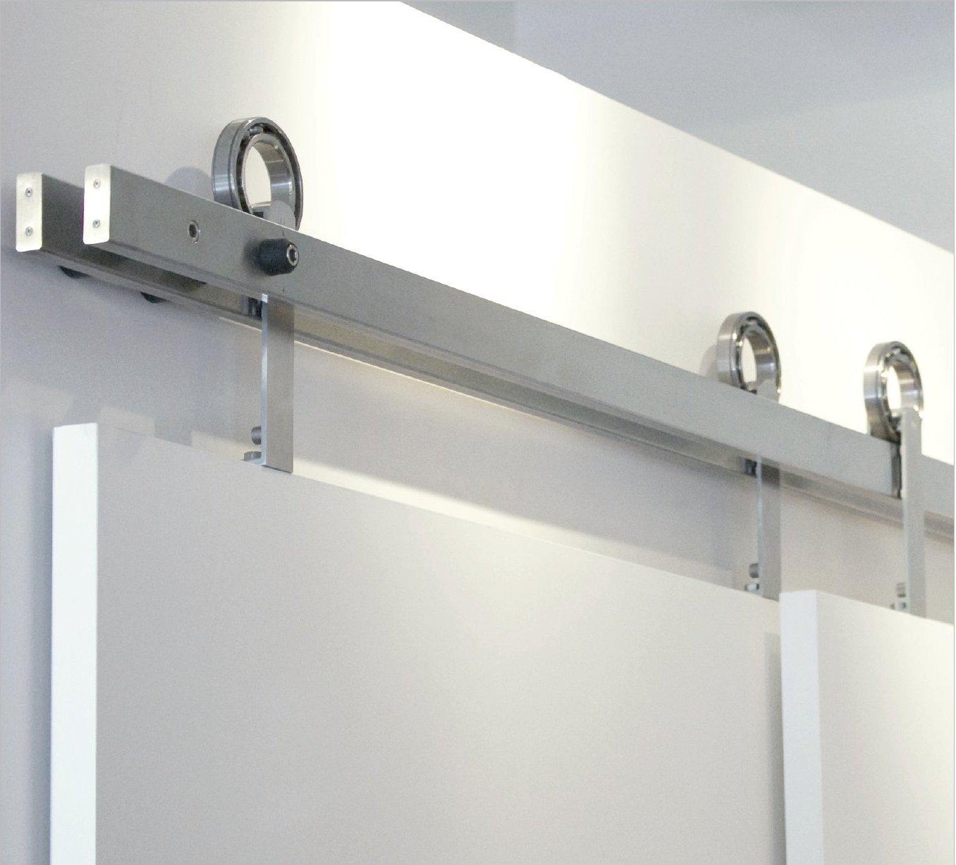 Exposed Door Tracks For Sliding Doorstubular pass track specialty doors and hardware