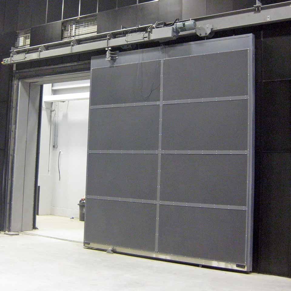 Fireproof Sliding Door System