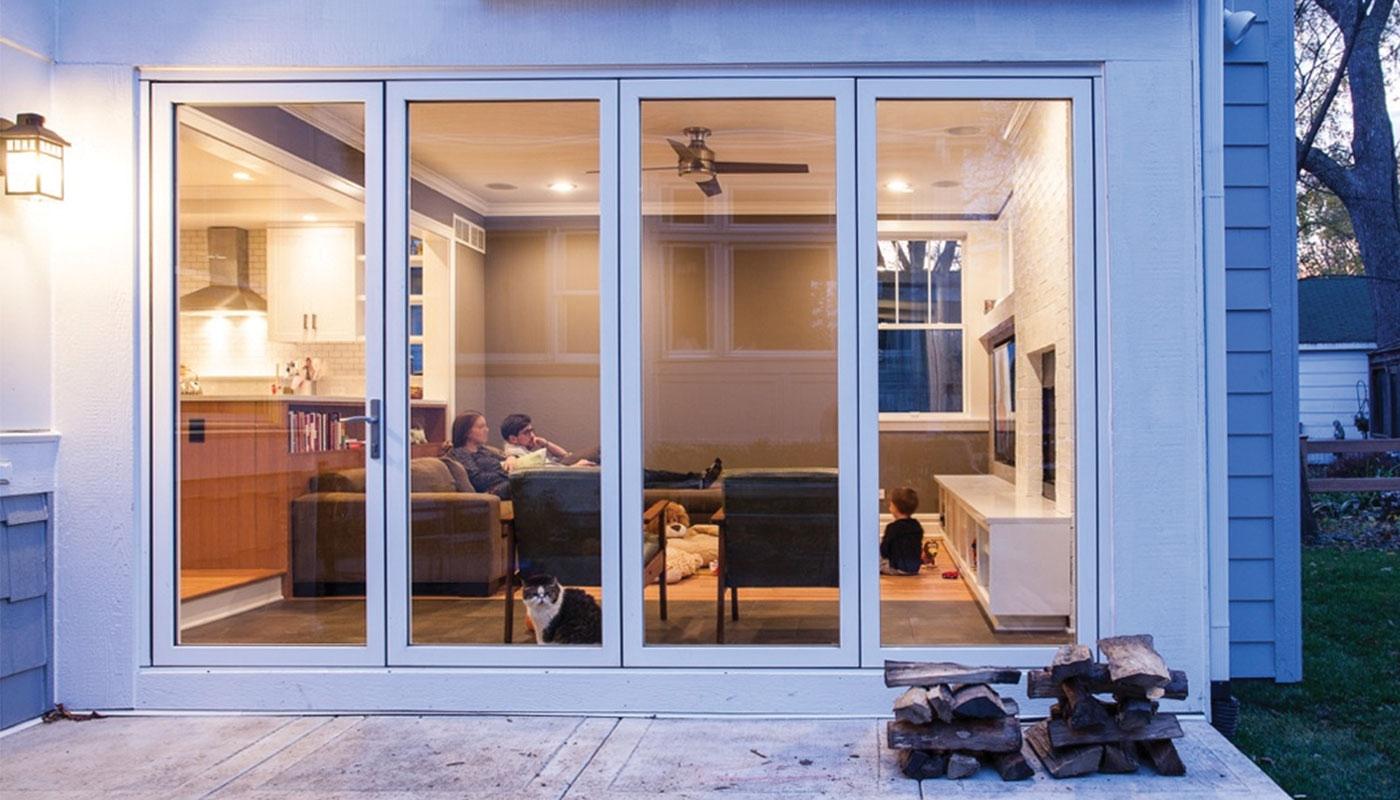 Hideaway Sliding Glass Doors