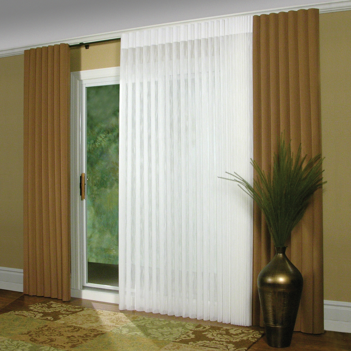 Insulated Vertical Blinds For Sliding Glass Doors1200 X 1200