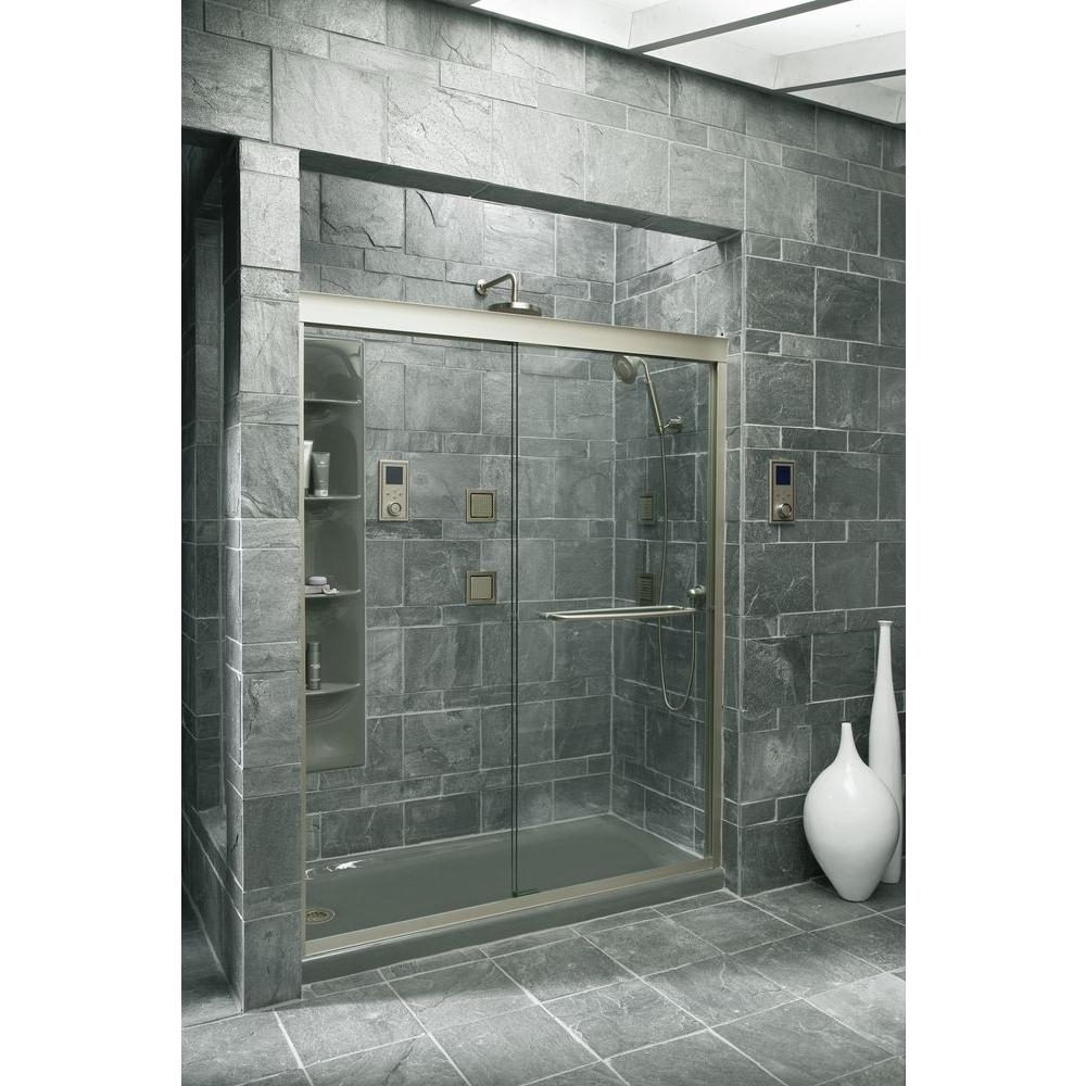 Kohler Fluence Frameless Sliding Shower Door1000 X 1000