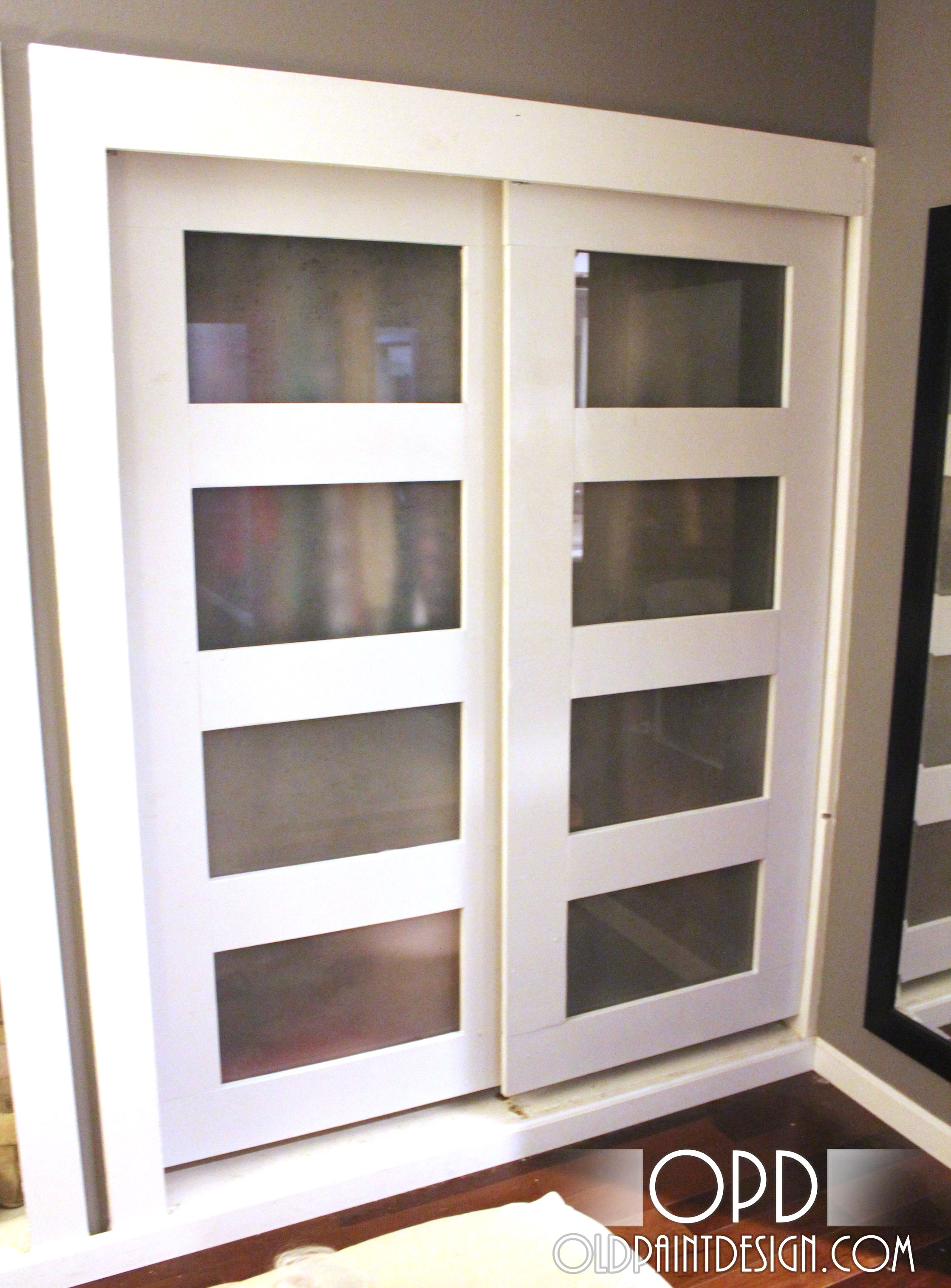 Make Sliding Doors For Closetana white pass closet doors diy projects