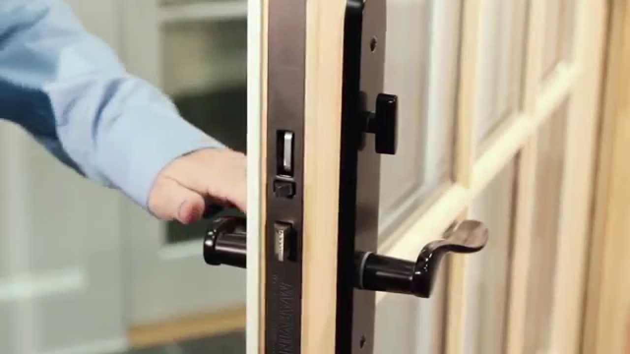 Marvin Integrity Sliding Door Locks