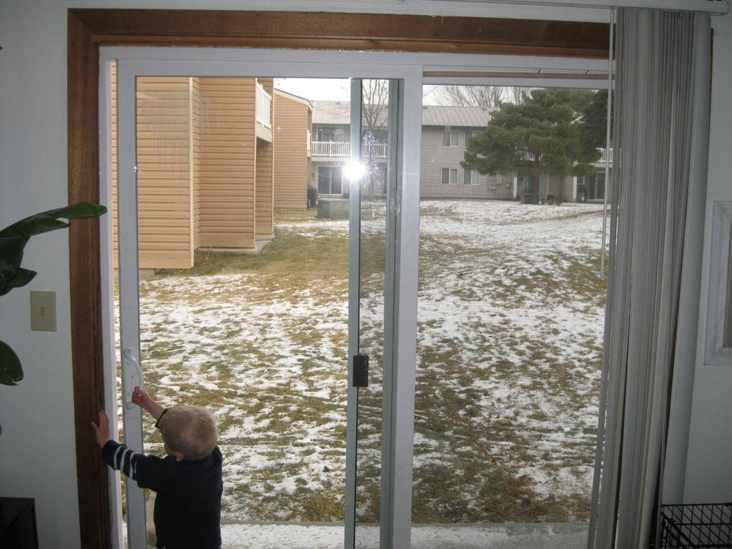 Safety Lock For Sliding Screen Door