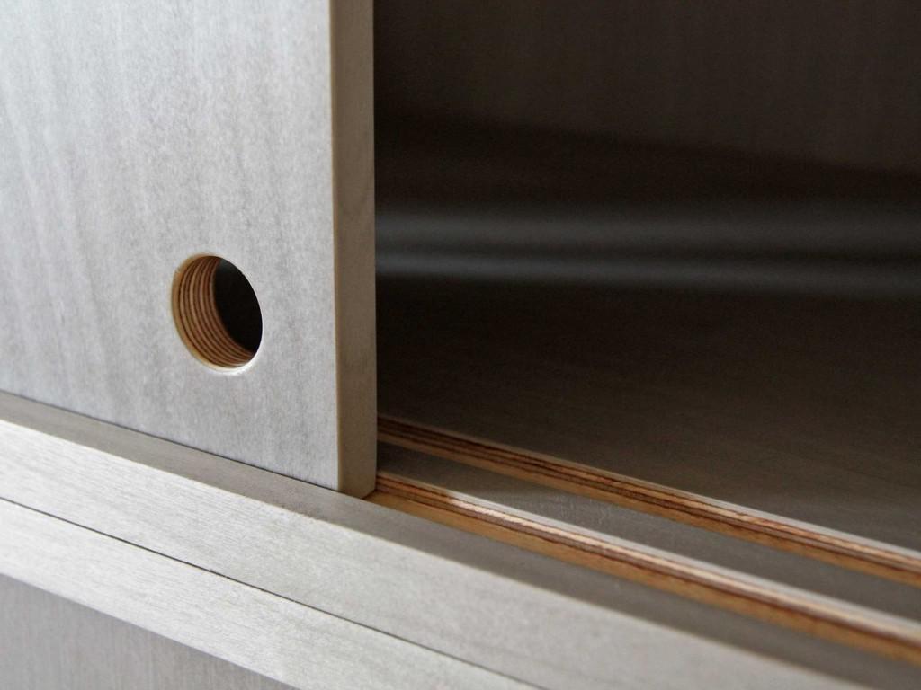 Sliding Cabinet Door Track SystemSliding Cabinet Door Track System